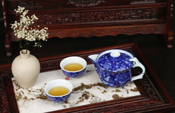 Chinese Tea Array Royalty Free Stock Image