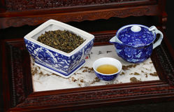 Chinese Tea Array Stock Photography