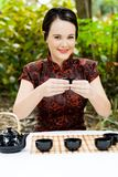 Chinese tea art Royalty Free Stock Image