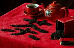 Chinese tea break Royalty Free Stock Images