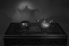 The Chinese Tea Ceremony. Set for the Chinese tea ceremony Royalty Free Stock Photos