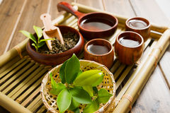 The chinese tea ceremony Stock Photography