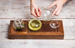 Chinese tea ceremony Stock Photography