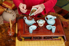 Chinese tea ceremony Royalty Free Stock Photo