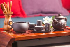 Chinese tea ceremony Stock Photos