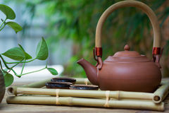 Chinese tea ceremony Royalty Free Stock Photo