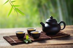 Chinese tea ceremony Stock Image