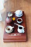 Chinese tea ceremony. Leisure lifestyle Stock Photo