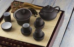 Chinese tea ceremony Royalty Free Stock Image