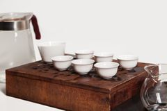 Chinese tea ceremony. Tea Set Stock Images
