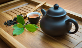 Chinese tea ceremony Royalty Free Stock Image