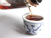 Chinese Tea Closeup Stock Photography