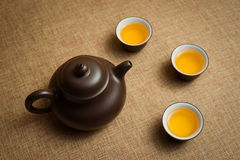 Chinese Tea Culture Stock Photography