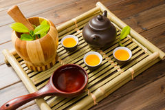 Chinese Tea Culture Stock Photo
