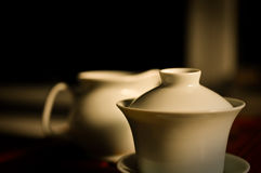 Chinese Tea cup. One group photos of Chinese tea cup and tea sets royalty free stock photography