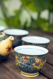 Chinese tea cup Royalty Free Stock Photography