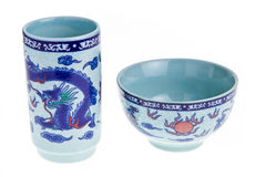 Chinese tea cup Royalty Free Stock Photos