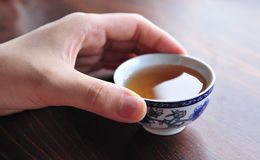 A Chinese tea cup Royalty Free Stock Image