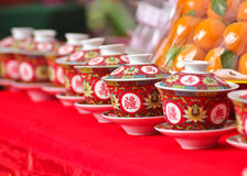 Chinese tea cup Royalty Free Stock Image