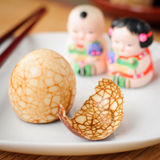 Chinese Tea Eggs Royalty Free Stock Photography