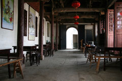 Chinese tea house Royalty Free Stock Images