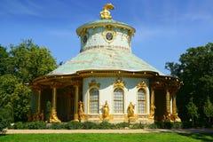Chinese tea house. Sanssouci Palace, Potsdam. Chinese tea house in Sanssouci Palace in Potsdam Royalty Free Stock Images