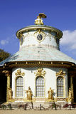 Chinese tea house of Sanssouci in Potsdam. In the castle grounds Stock Images