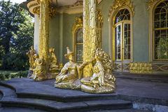 Chinese tea house from 18th century in Sanssouci park Stock Image