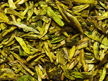 Chinese tea leaves Stock Photography