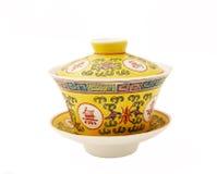 Chinese tea porcelain Royalty Free Stock Photo