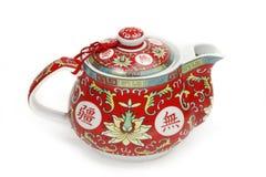Chinese tea pot. Studio shot of a chinese tea pot royalty free stock photos