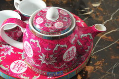 Chinese tea pot Stock Photo