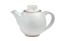 Chinese tea pot isolated Royalty Free Stock Photos