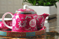 Chinese tea pot Royalty Free Stock Photography