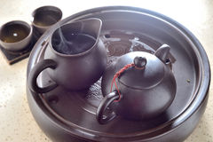 Chinese tea pot Stock Images