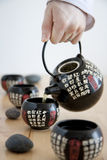 Chinese tea service Royalty Free Stock Image