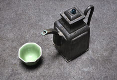 Chinese Tea Set�Pot Stock Photos