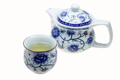 Chinese tea set Stock Photos