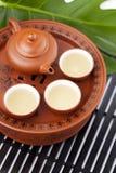 Chinese tea set Stock Photo