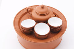 Chinese tea set Stock Photos