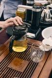 Chinese tea set Royalty Free Stock Photo
