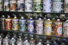 Chinese Tea Set,Pot Royalty Free Stock Photo