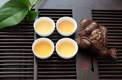 Chinese tea set Stock Images