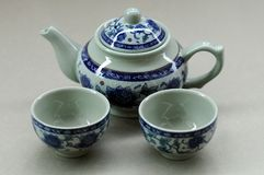 Chinese tea setting Stock Image