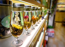 Chinese tea shop Royalty Free Stock Photo