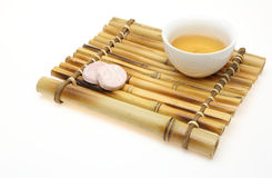 Chinese tea and snacks Royalty Free Stock Image