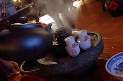 Chinese Tea in Taipei Stock Photos