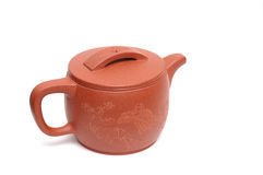 Chinese teapot. It is a Chinese teapot Royalty Free Stock Images