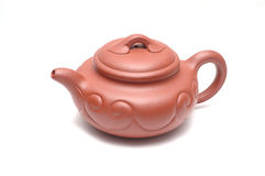 Chinese teapot. It is a Chinese teapot Royalty Free Stock Photography