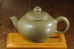 Chinese teapot Stock Image